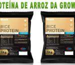 Proteína de arroz da Growth Supplements, tudo o que você precisa saber!