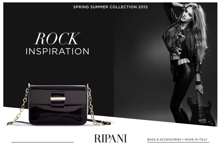 Spring Summer Collection 2015 - model CONCERTO #feedyourstyle #shopping #clutch #rockstyle