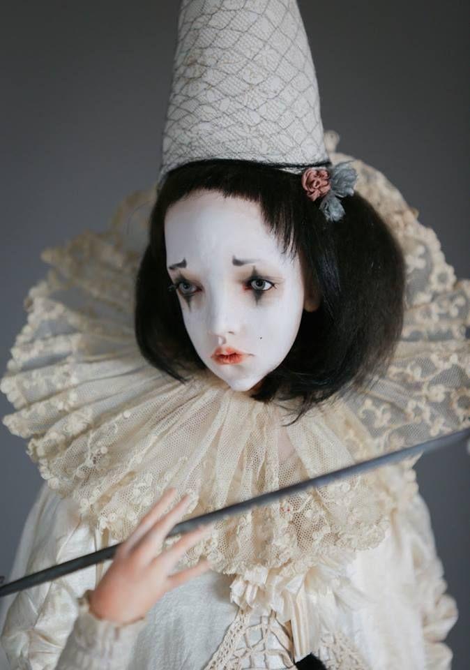 Art doll by Tatyana Avlasevich