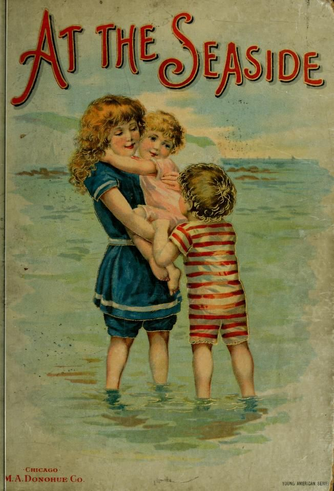 At the seaside book illustrated by Harriett Mary Bennett. This illustration is also found on a calendar from 1894.