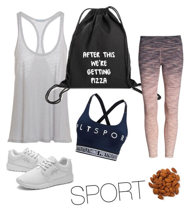 """""""Untitled #55"""" by ssimuhina on Polyvore featuring Pretty Little Thing and Zella"""