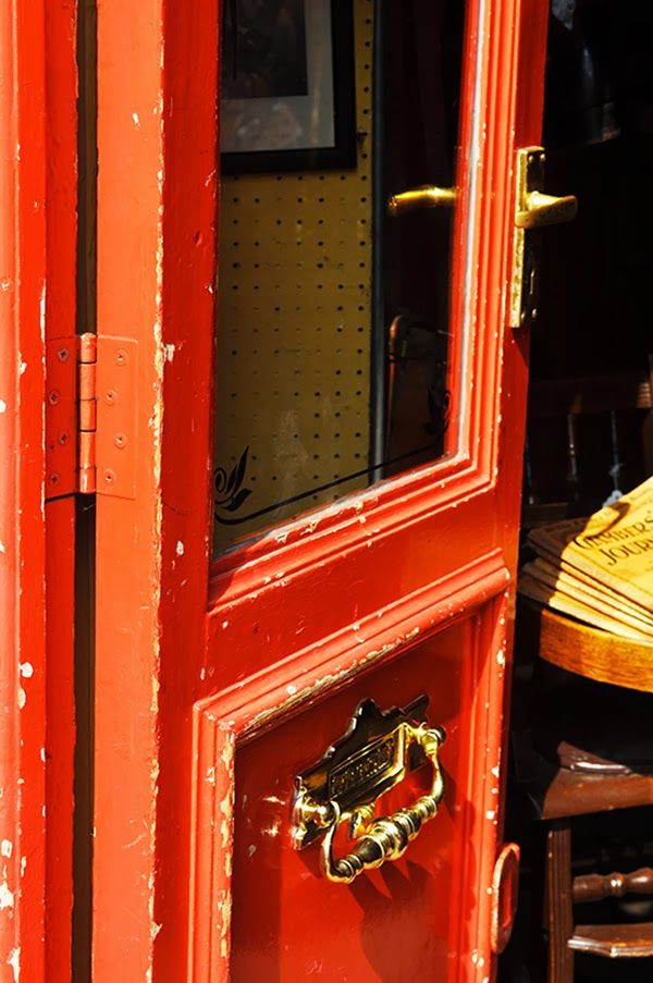 London  Door Portobello Market Still Life  Travel