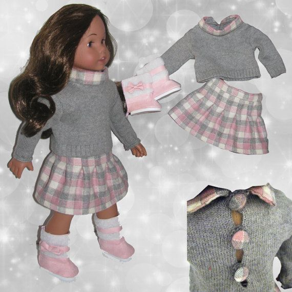 Completo per American Girl Doll 18 outfit di RobysDollsFashion