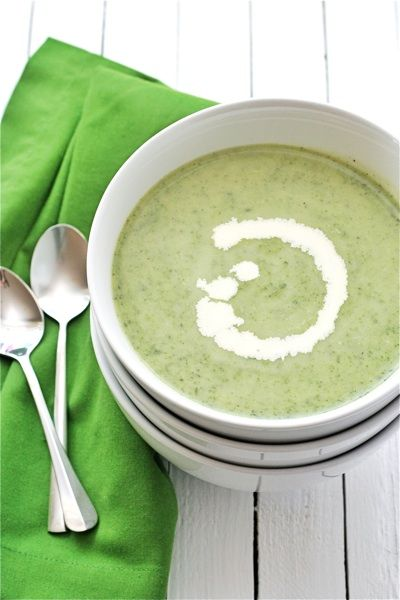 Irish nettle soup - i made today with fresh nettles from the farmers market. wow.
