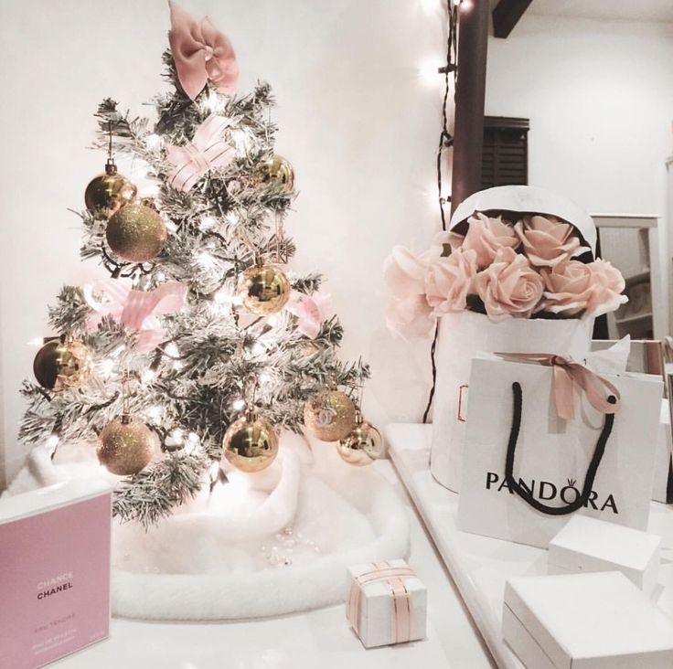 White Christmas Tree Decorations Pinterest Part - 34: 25+ Best Girly Christmas Tree Ideas On Pinterest | White Christmas Trees, White  Christmas Tree Decorations And Christmas Tree