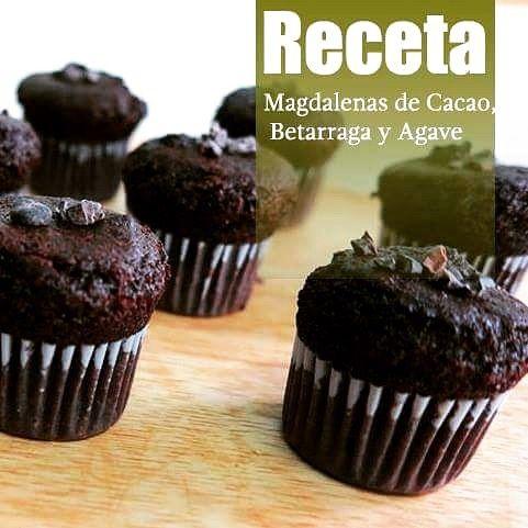 Muffins betarraga y cacao