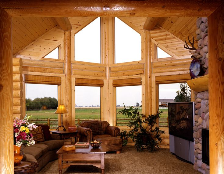 Log Home Interiors And Styles. View A Variety Of Possibilities For Log Home  Interiors Today To Plan Your Next Log Home. Contact Yellowstone Log Homes  Today. Part 55