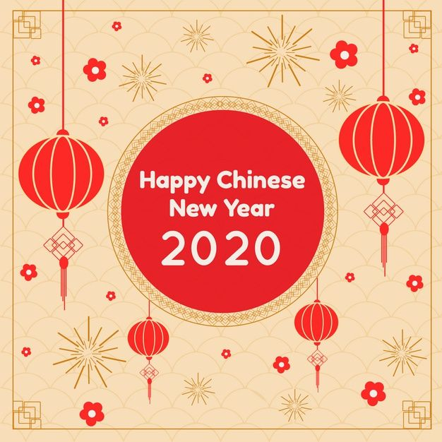 Download Chinese New Year In Flat Design For Free