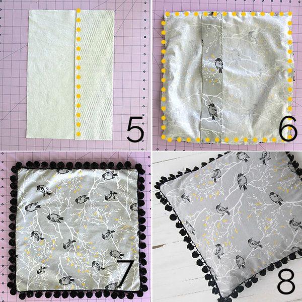 instructions+for+making+a+pom+pom+trim+throw+pillow