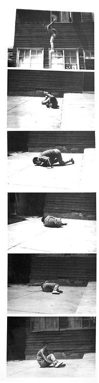 Tehching Hsieh: Jump Piece, 1973