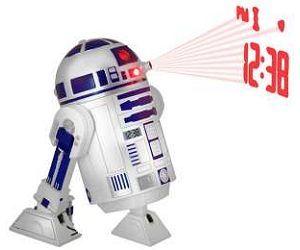 Réveil projecteur Star Wars R2-D2 : le meilleur des petits robots peut devenir ton radio réveil.