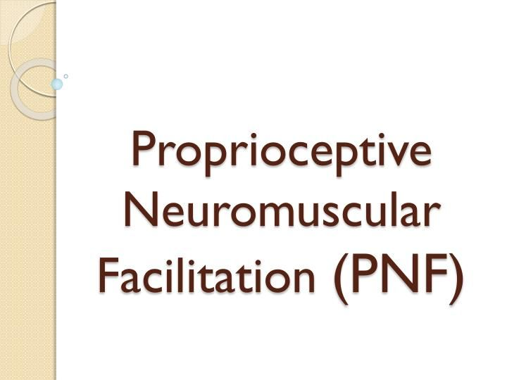 Examples List on The Role Of Proprioceptive Neuromuscular Facilitation Stroke