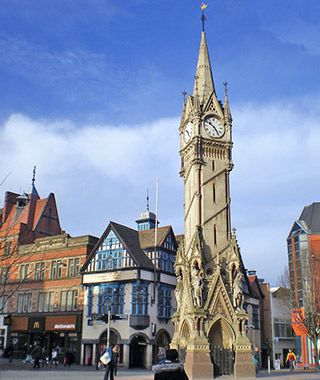 World's Most Beautiful Clock Towers: Haymarket, Leicester, U.K.