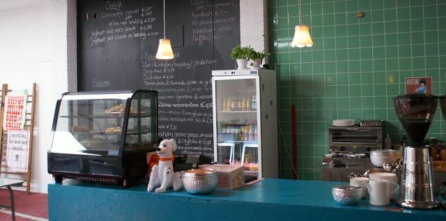 Groene Keuken Tieleman : Winkel Festen in Maastricht, die groene tegels mooi voor