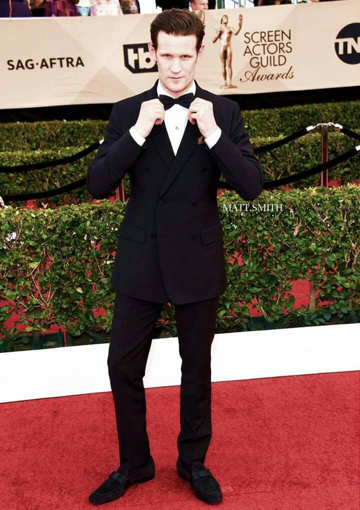 Matt Smith at the SAG Awards. 1/29/17