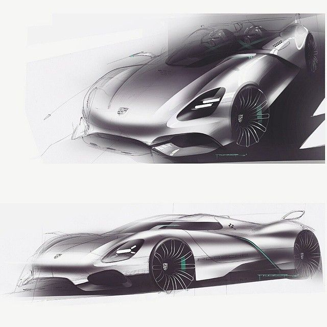 Prsch sketches again. #automotivedesign #designsketches #design #designsketch #cardesigncommunity#cardesign #carsketch#idsketching #automotivesketch#industrialdesign #productdesign#drawing#drawings