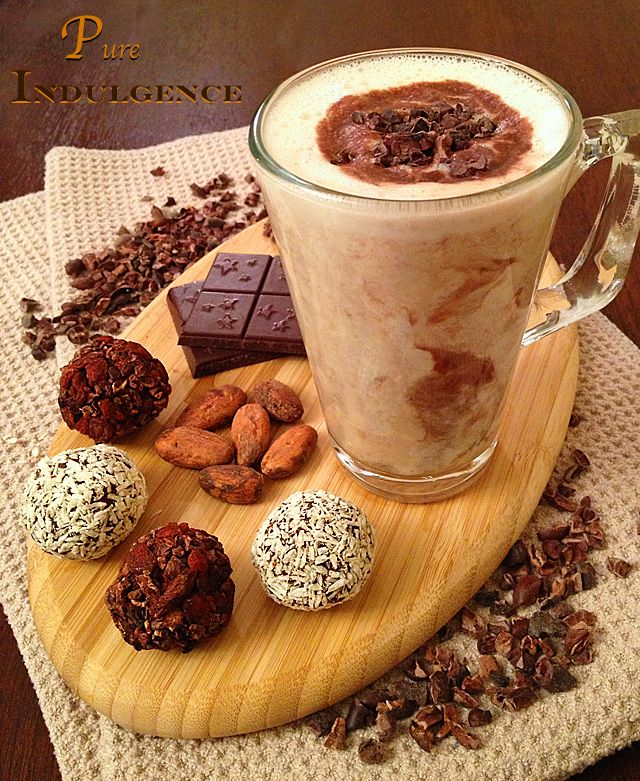 10 best raw chocolate recipes images on pinterest chocolate pure indulgence drink dairy free raw rich and creamy chocolate drink with cacao recipesraw food forumfinder Choice Image