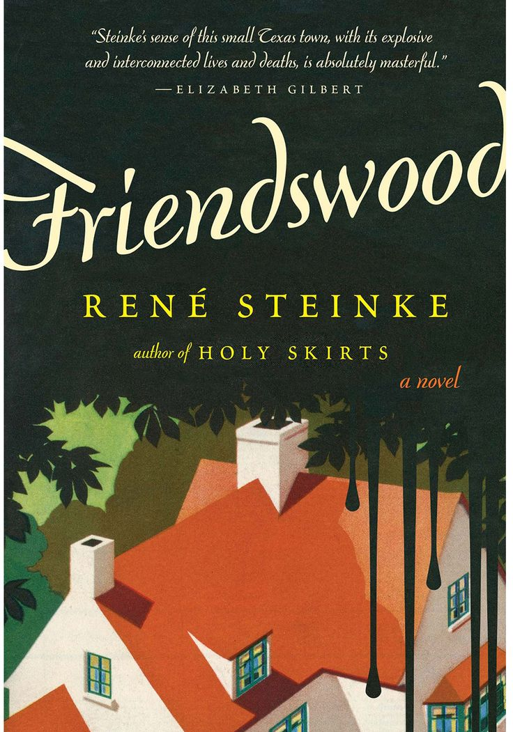 "In Friendswood, René Steinke's masterfully observed third novel, the locals attend Baptist church and high school football games as in any other small, tightly knit coastal Texas town. But behind closed doors, each family lives with the fallout from an ecological disaster that caused some of them to abandon their homes in nearby Rosemont, where toxic sludge seeped into their ball fields and yards ""in slick and oily, weird perfect coils,"" causing painful rashes, stillbirths and cancer."