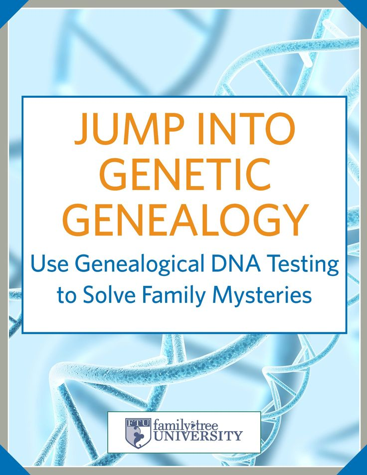 Download our new free ebook - Jump into Genetic Genealogy: Use Genealogical DNA Testing to Solve Family Mysteries.