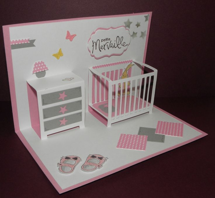 carte pop up handmade cards paper crafts pinterest. Black Bedroom Furniture Sets. Home Design Ideas