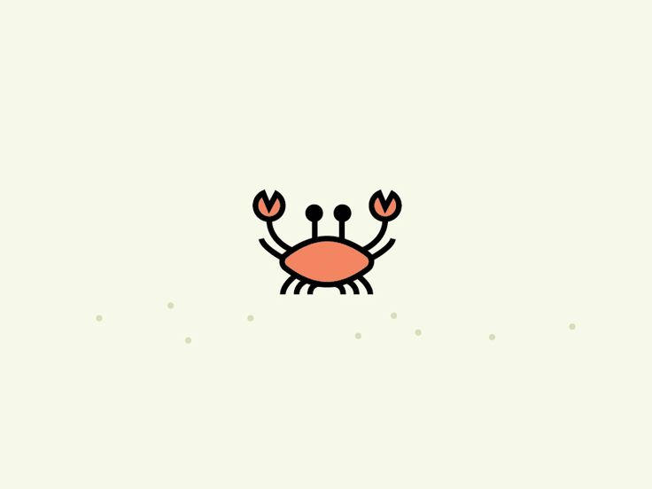 Tiny Crab  by Ruxandra                                                                                                                                                                                 More
