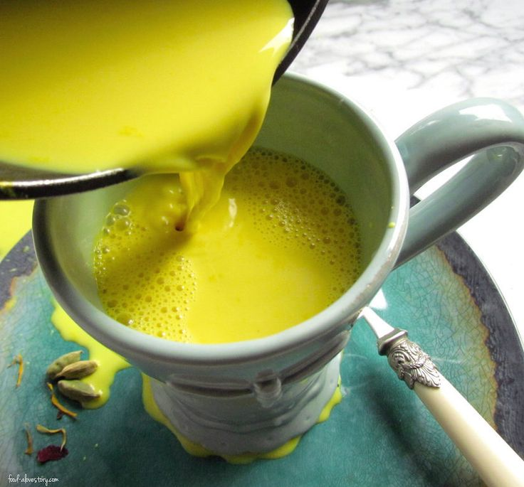 Turmeric gold milk