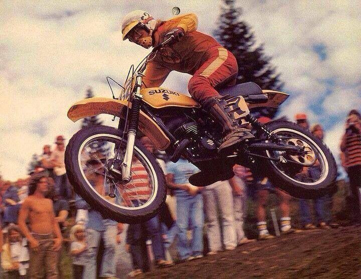 Vintage Suzuki Motocross Racing