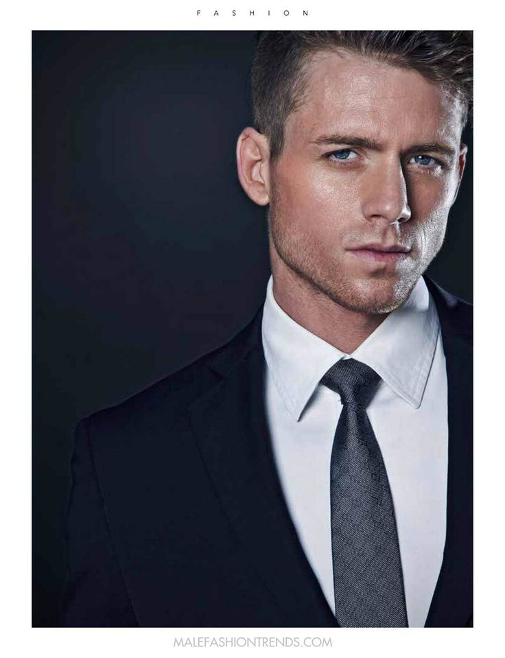 Bodie in a suit