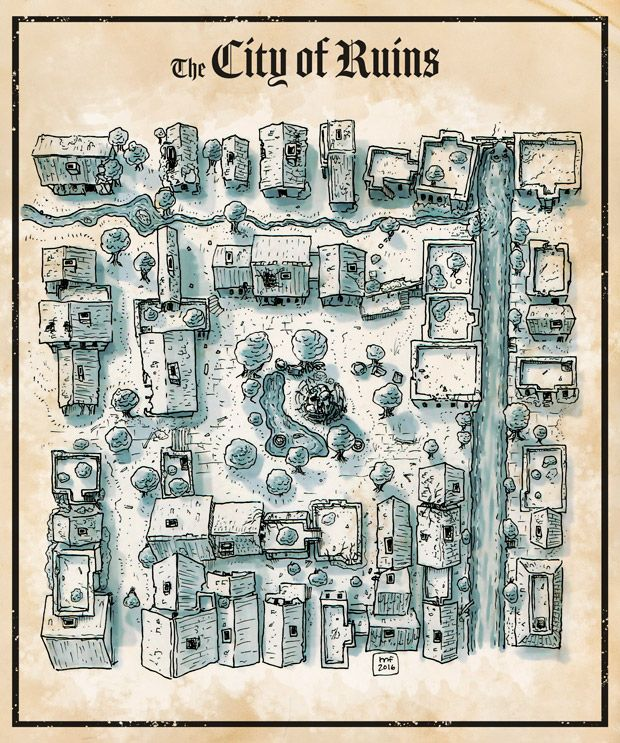 [Map] The Ruined City
