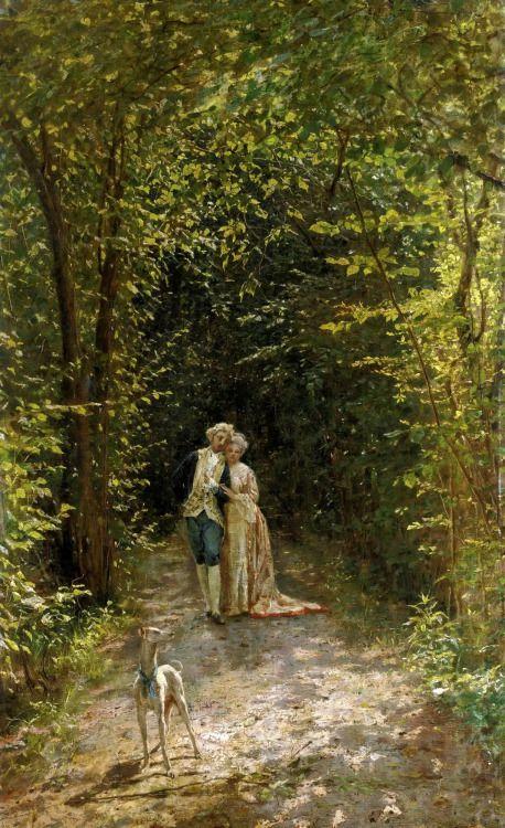 fleurdulys: Una paseggiata amorosa - Filippo Carcano