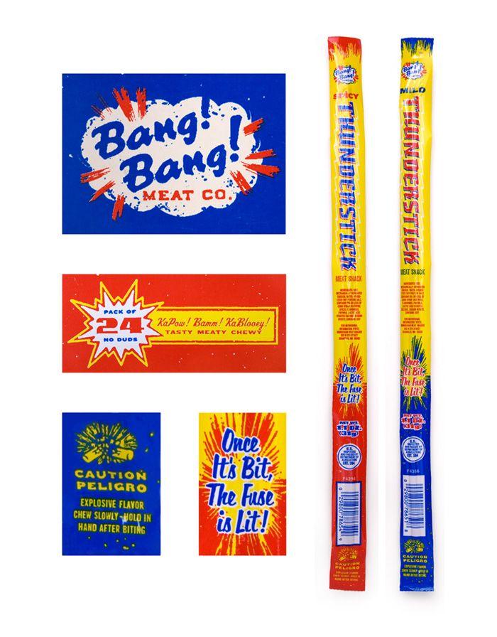 Thunderstick Packaging—Ben Harman: Graphic Design, Fireworks Packaging, Graphics Design, Harman Graphics, Thunderstick Packagingben, Thunderstick Packaging Ben, Packagingben Harman, Packaging Pick, Packaging Ben Harman
