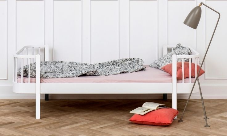 Oliver Furniture Wood 1-persoons bed wit 90x200cm