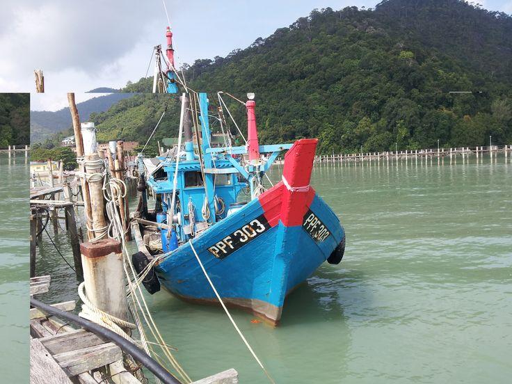 Fishing boat, Teluk Bahang
