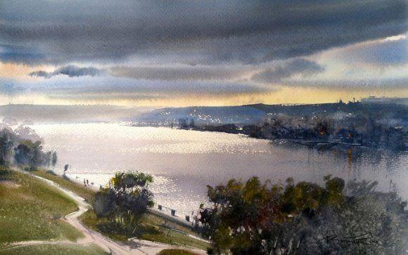 The Best Sky Landscape Photography Skylandscapephotography Watercolor Landscape Paintings Watercolor Landscape Landscape Photography Tutorial