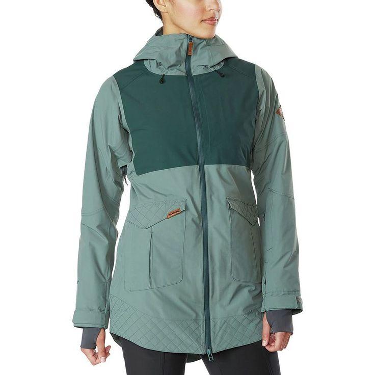 DAKINE - Silcox Insulated Jacket - Women's - Balsam Green/Indica Green