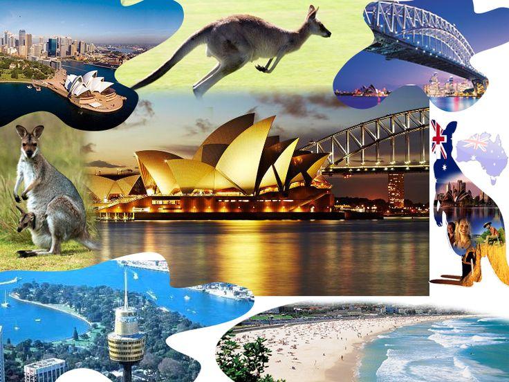 Top 10 destinations in Australia  1. Sydney  2. Cairns 3.Gold Coast  4. Fraser island  5. Magnetic Island 6. Whitsundays  7. Ayers Rocks 8. Great Ocean Road  9. Kakadu National Park 10. Tasmania  For more information about australia http://trawelmart.com/about-australia.php