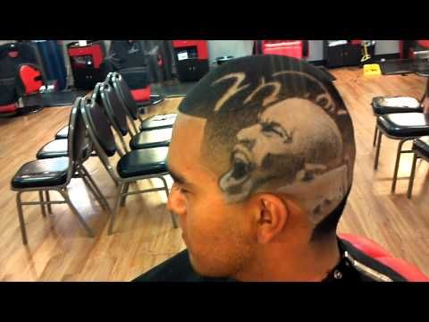 How would you like to have an image of Michael Jordan for a haircut?