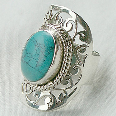 """""""Farida"""" Ring from Cahoia"""
