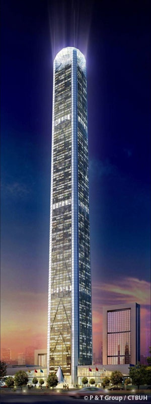 Goldin Finance 117 Tower - P & T Group Architects - Tianjin, China by