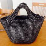 Мобильный LiveInternet МК по вязанию пластиковой летней сумки. | svetlana-sh - Записки рукодельницы |