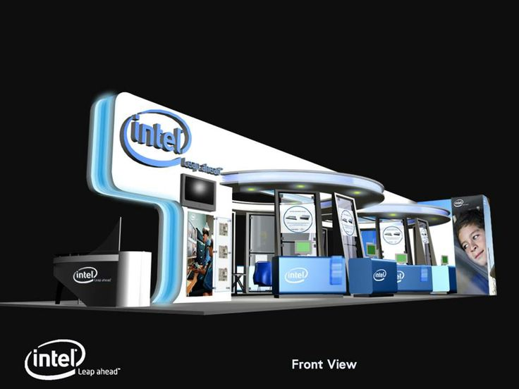Intel at SecuTech Exhibition