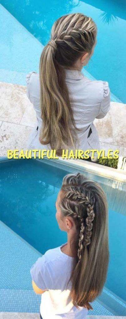 #Brides #Bridesmaid #Easy Hairstyles straight #Glattes #Hair - all -