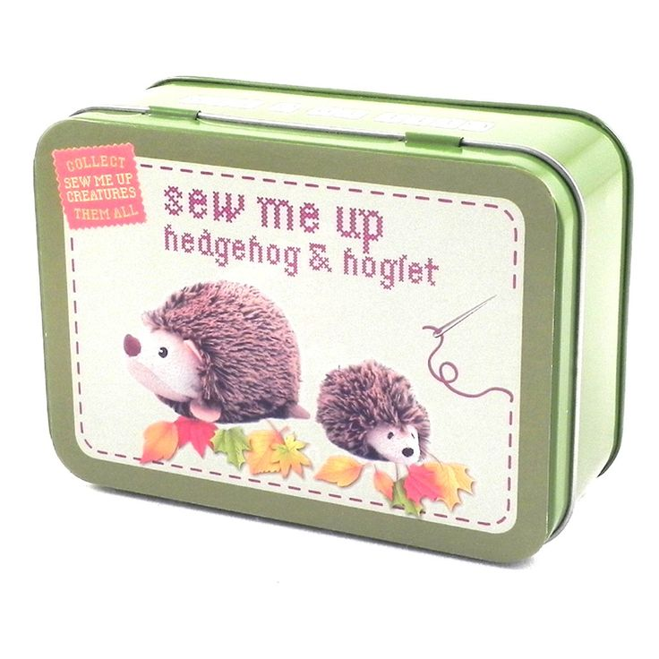 Gifts With Photos On Them Part - 43: Girls Age 12 Will Love This Gift In A Tin - Hedgehog. This Makes A Super  Cute Gift And Will Teach Them How To Sew Too!