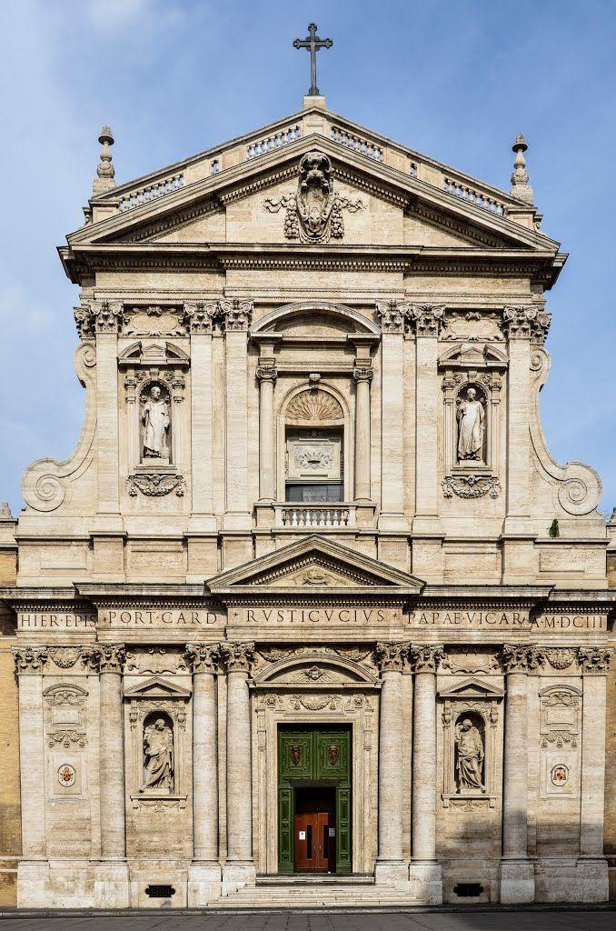 Santa Susanna Church entrance