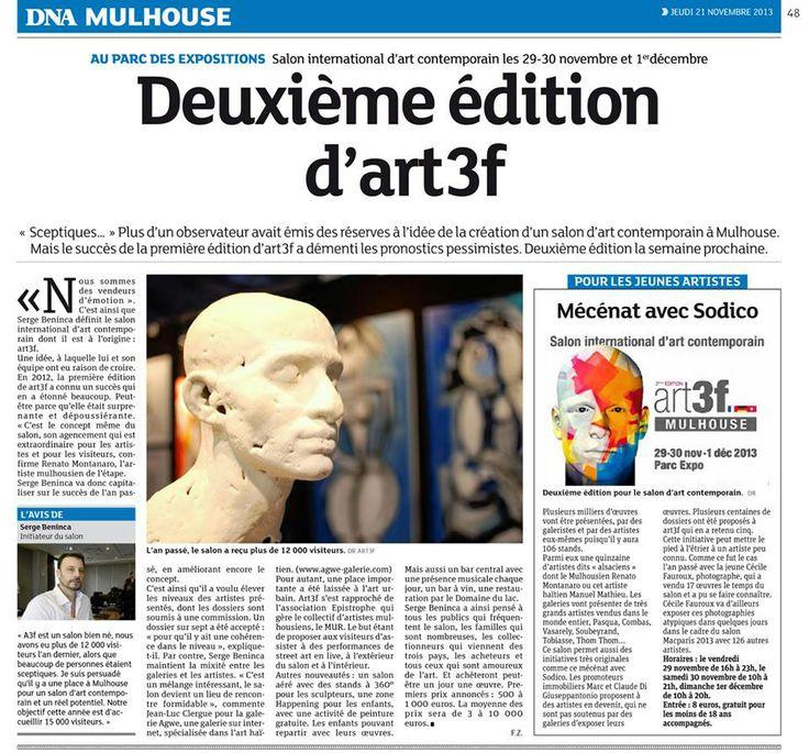 Article sur l'art3f.