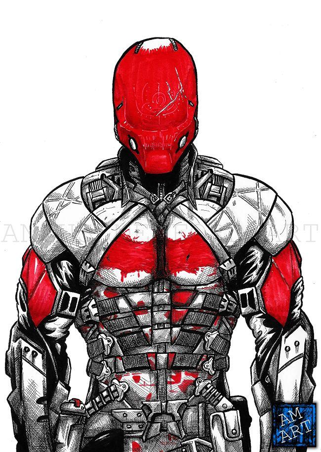 Red Hood Arkham Knight Wallpaper