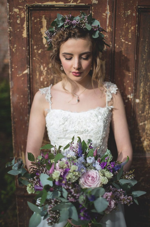 Feminine Bohemian Beautiful Bridal Ideas http://www.photographsbyeve.co.uk/