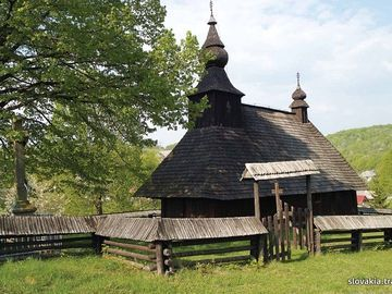 Hrabová Roztoka - Kostol sv. Bazila Veľkého - Drevené kostoly - Slovakia.travel