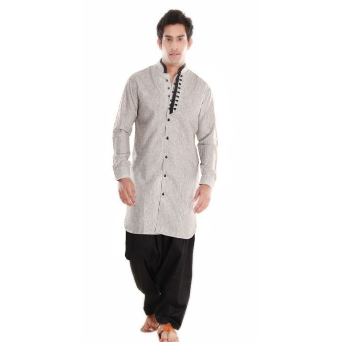 latest and stylish Indian outfits men's kurta to grace any kind of occasion. #pathanikurta http://manawat.in/products/pathani-sets/