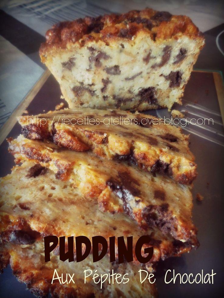 Pudding Aux Pépites de Chocolat Un pudding tout doux & réconfortant ! Réalisé avec le pain de campagne mon Partenaire GLUTABYE : http://www.glutabye.com/ https://www.facebook.com/GlutaBye.BioRevola/?fref=ts 6 à 8 tranches de pain 2 oeufs 150 ml de lait...